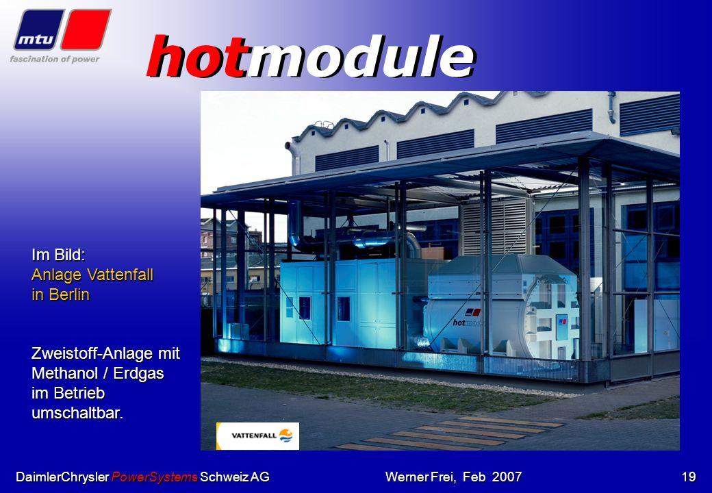 hotmodule Im Bild: Anlage Vattenfall in Berlin