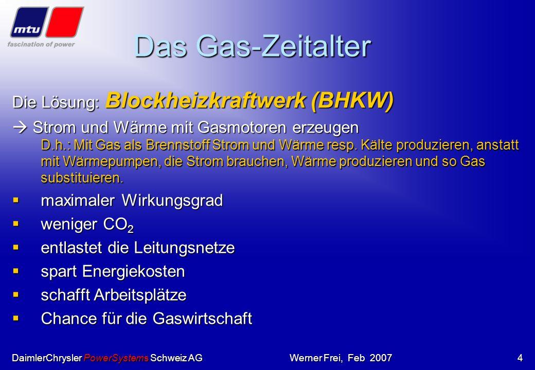Das Gas-Zeitalter Die Lösung: Blockheizkraftwerk (BHKW)