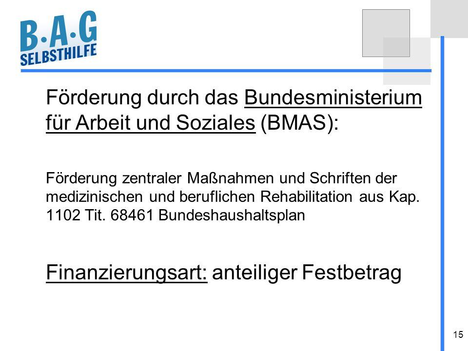 Förderung durch das Bundesministerium für Arbeit und Soziales (BMAS):