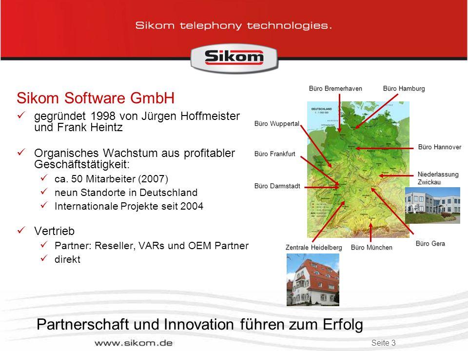 Partnerschaft und Innovation führen zum Erfolg