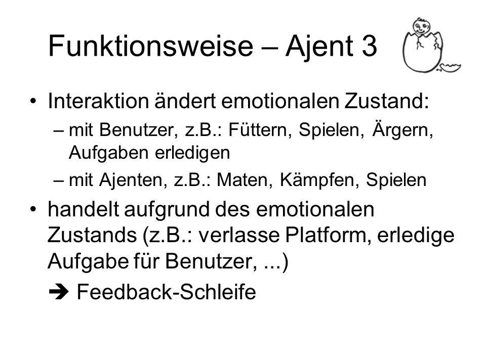 Funktionsweise – Ajent 3