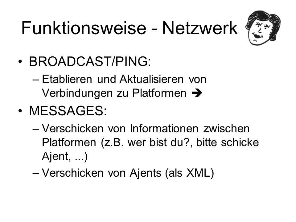 Funktionsweise - Netzwerk