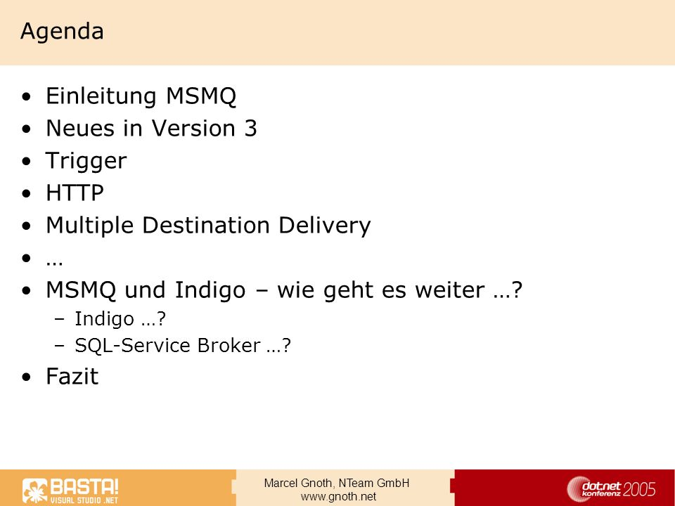 Multiple Destination Delivery …