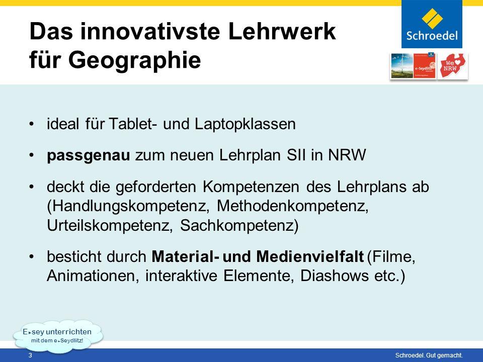 Das innovativste Lehrwerk für Geographie