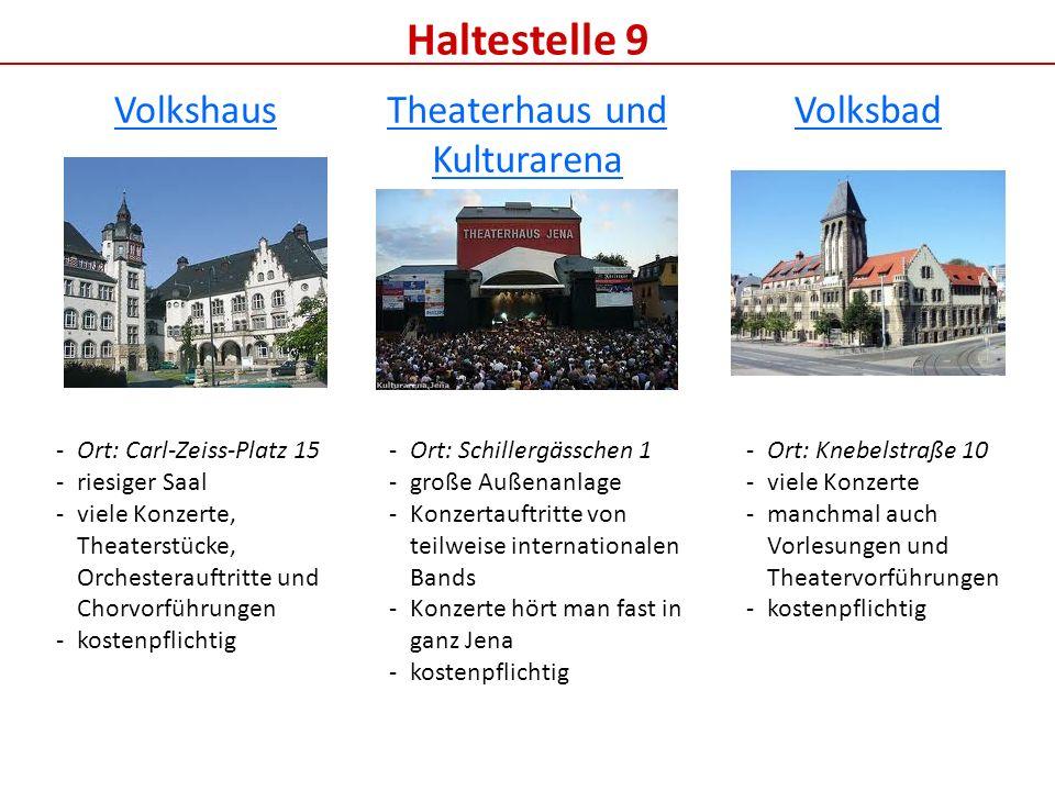 Theaterhaus und Kulturarena