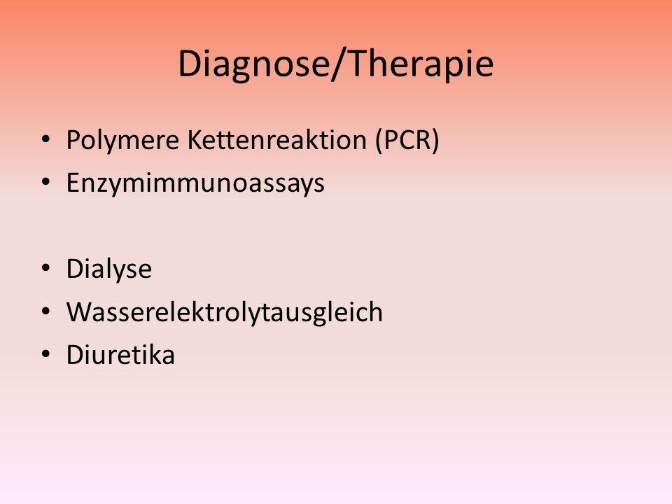 Diagnose/Therapie Polymere Kettenreaktion (PCR) Enzymimmunoassays