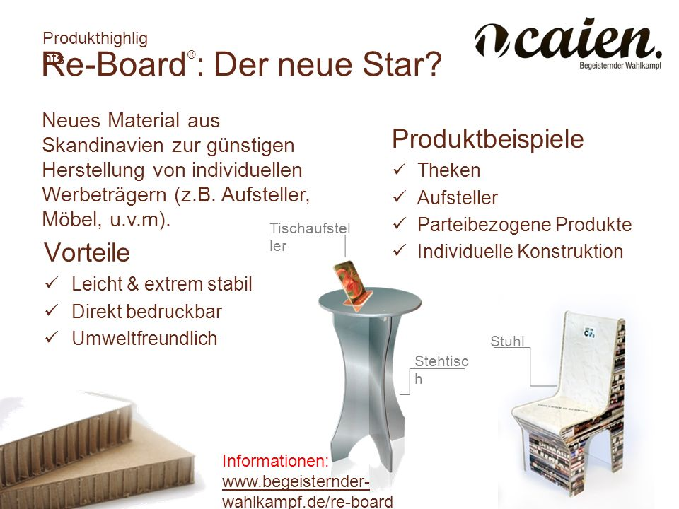 Re-Board®: Der neue Star
