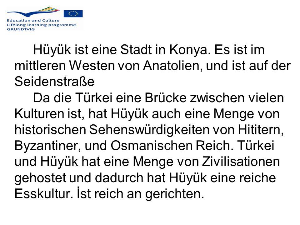 Hüyük ist eine Stadt in Konya