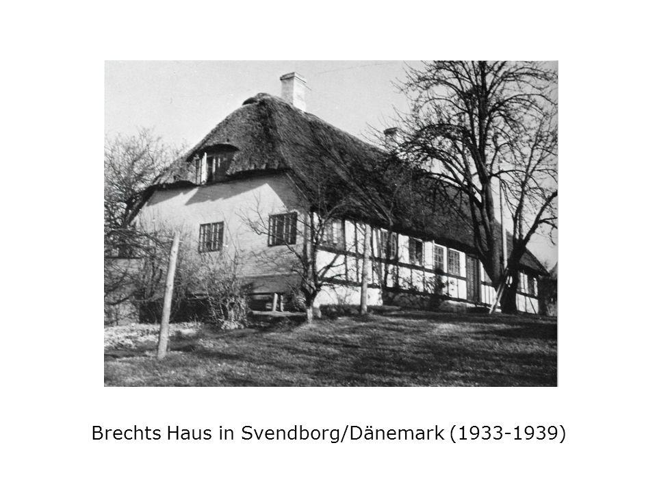 Brechts Haus in Svendborg/Dänemark (1933-1939)