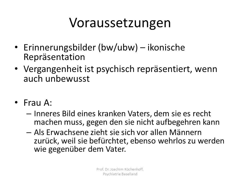 Prof. Dr. Joachim Küchenhoff, Psychiatrie Baselland
