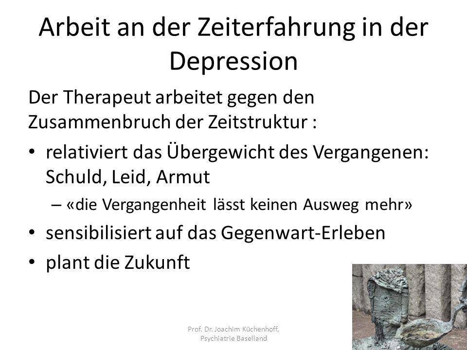 Arbeit an der Zeiterfahrung in der Depression