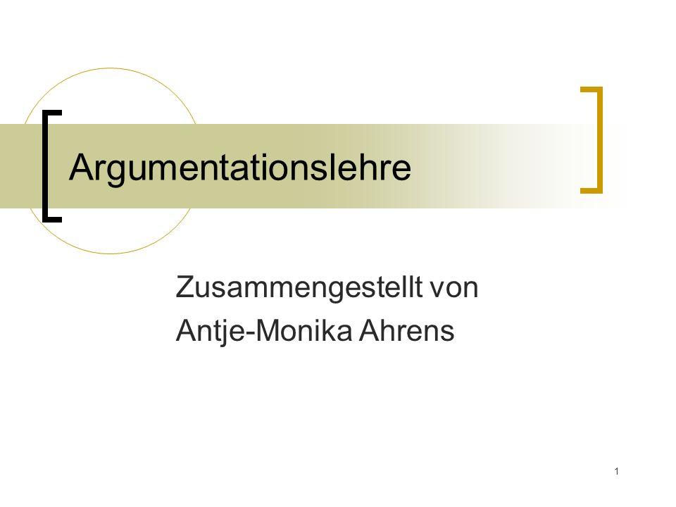Zusammengestellt von Antje-Monika Ahrens