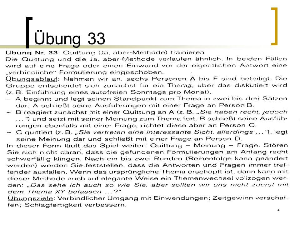 Übung 33