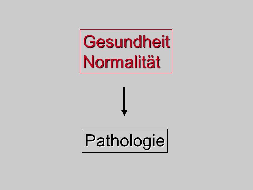 Gesundheit Normalität