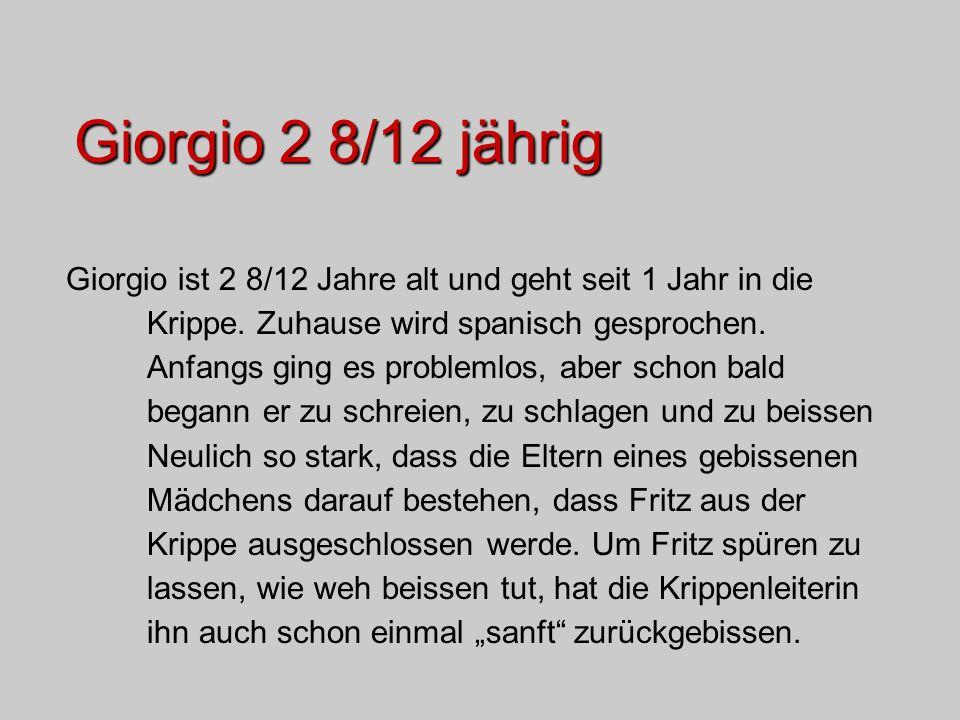 Giorgio 2 8/12 jährig