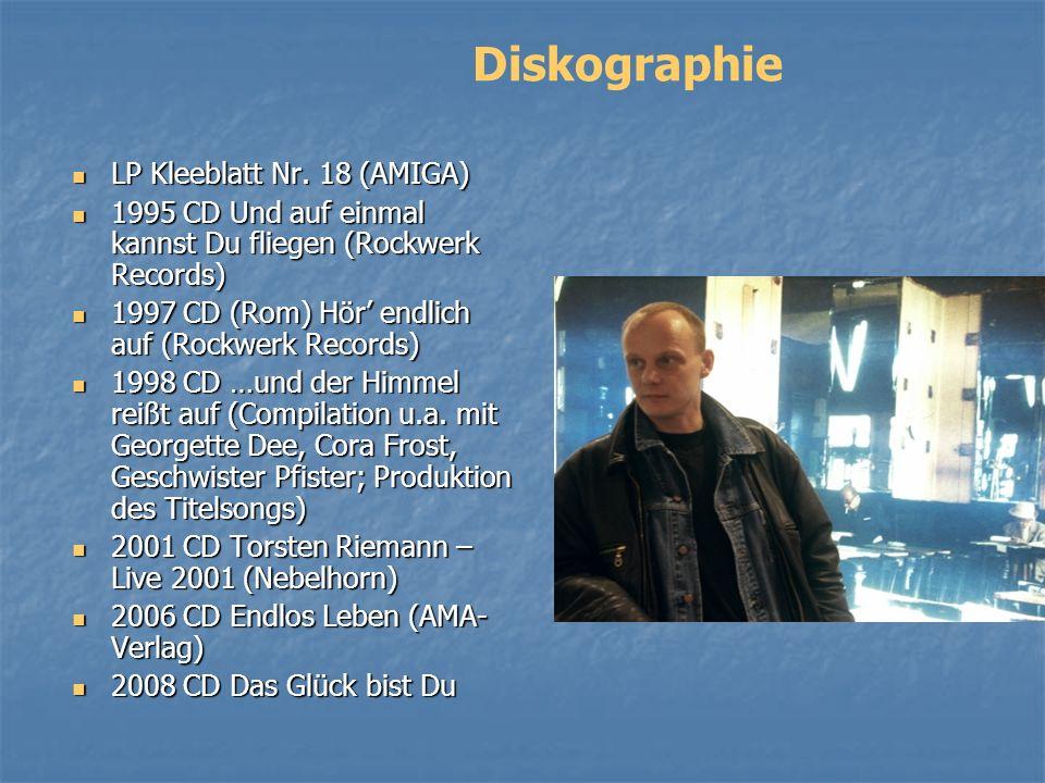 Diskographie LP Kleeblatt Nr. 18 (AMIGA)