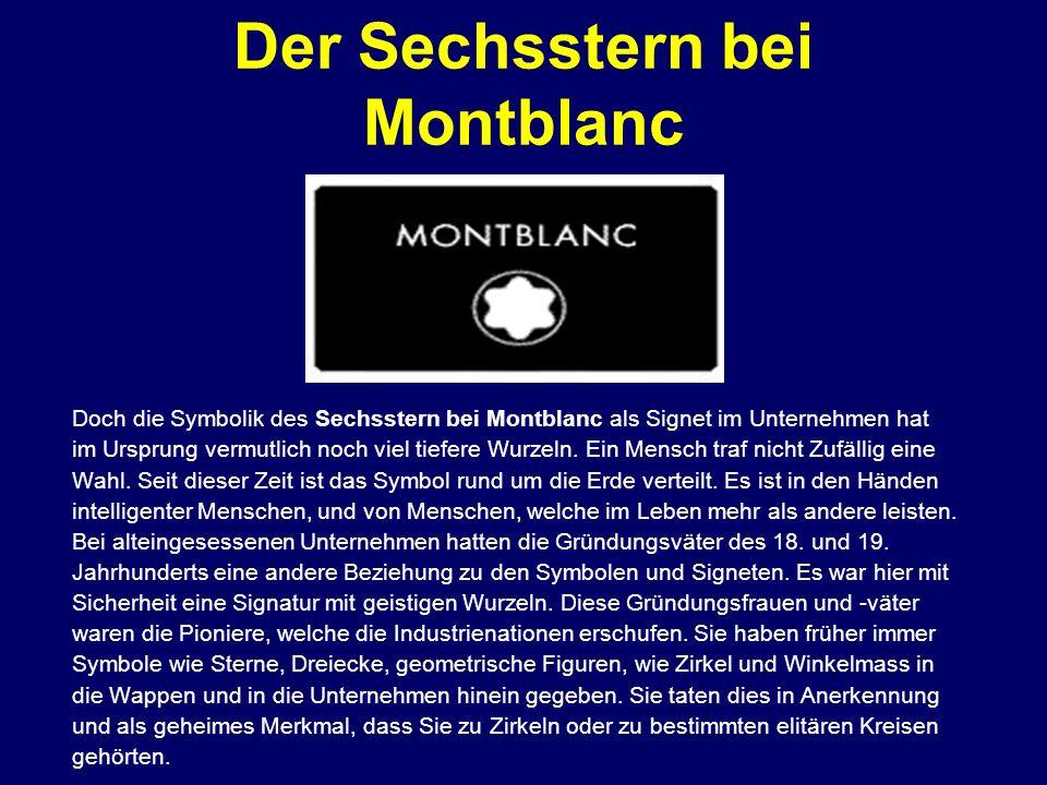 Der Sechsstern bei Montblanc