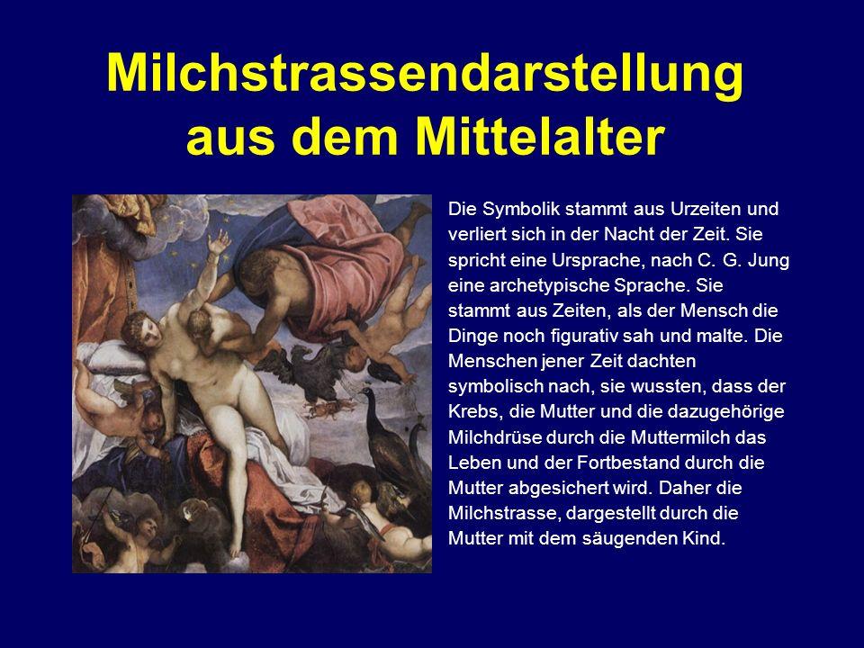 Milchstrassendarstellung aus dem Mittelalter