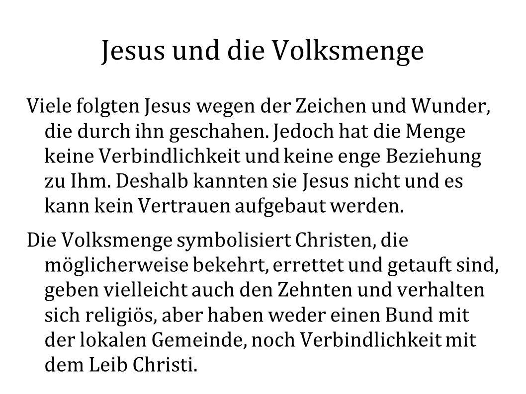 Jesus und die Volksmenge