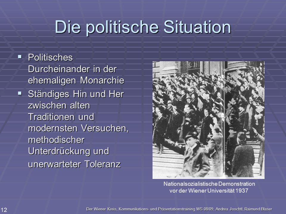 Die politische Situation