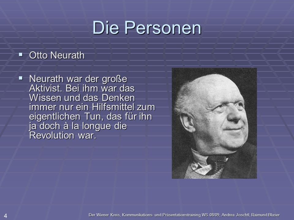 Die Personen Otto Neurath
