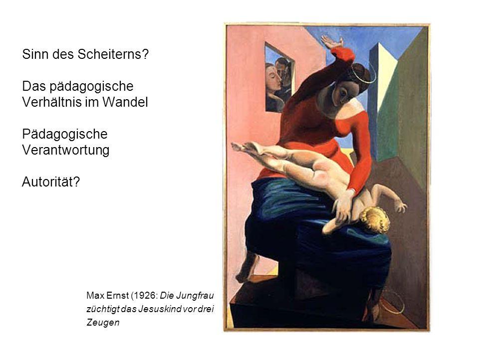 Max Ernst (1926: Die Jungfrau züchtigt das Jesuskind vor drei Zeugen