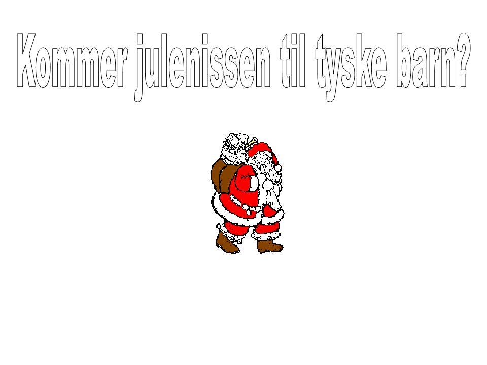 Kommer julenissen til tyske barn