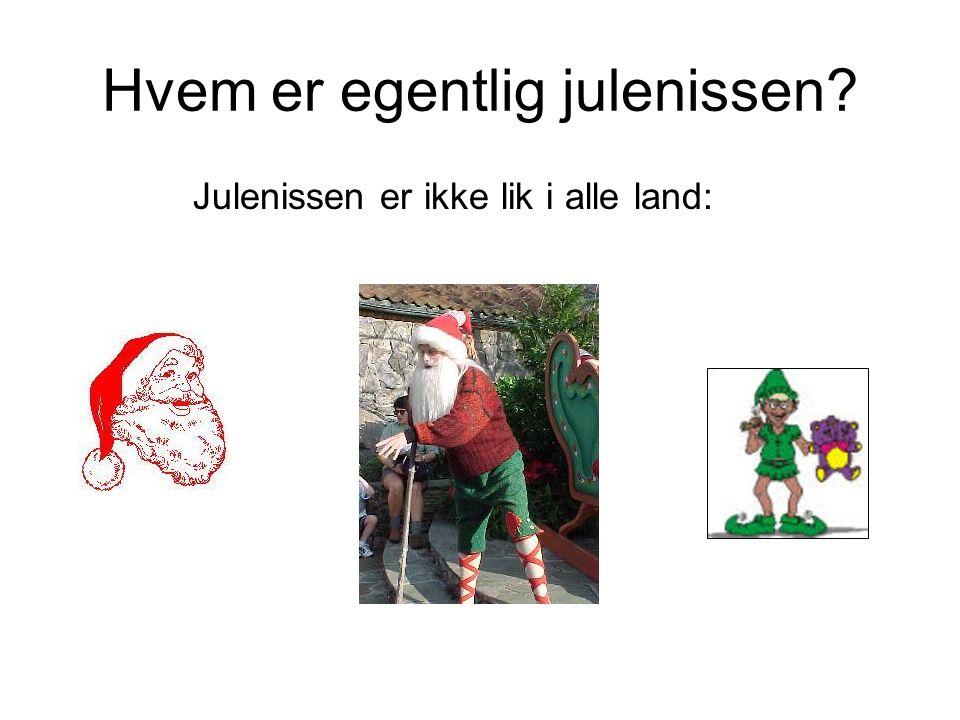 Hvem er egentlig julenissen