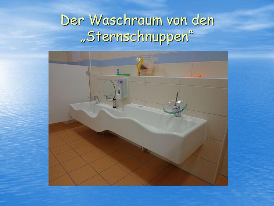"""Der Waschraum von den """"Sternschnuppen"""