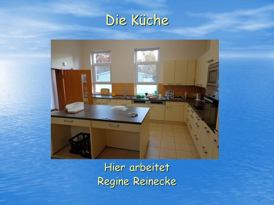 Hier arbeitet Regine Reinecke