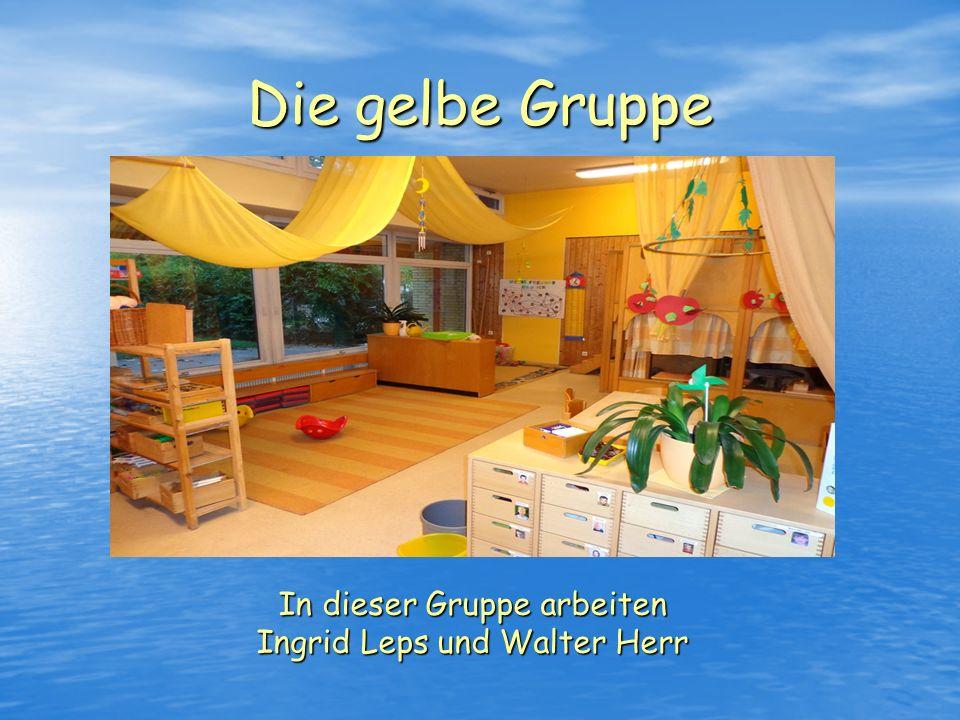 In dieser Gruppe arbeiten Ingrid Leps und Walter Herr