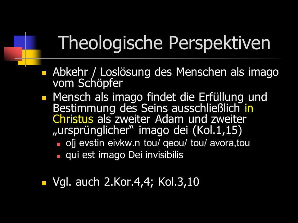 Theologische Perspektiven