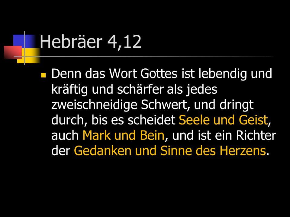 Hebräer 4,12