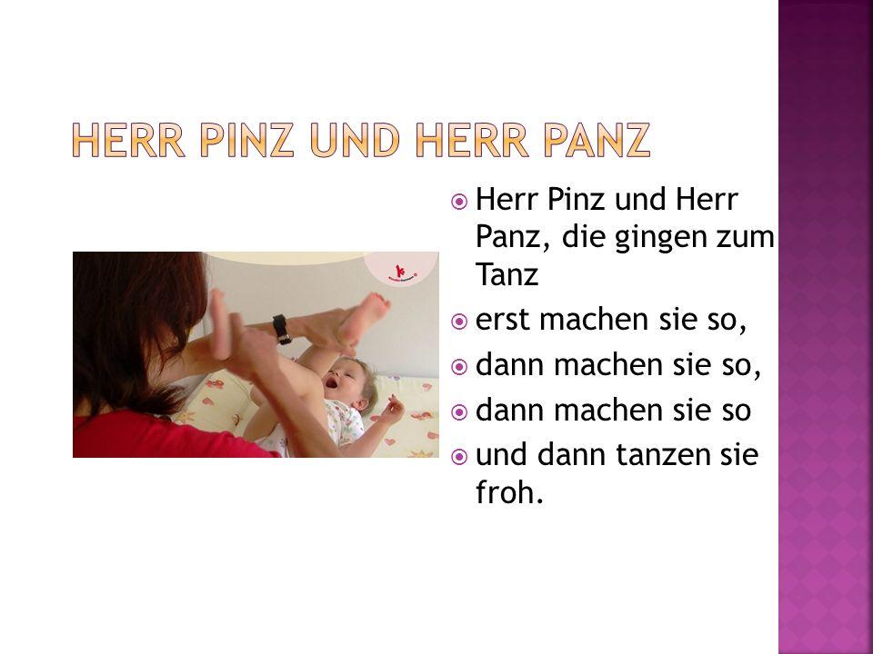 Herr Pinz und Herr Panz Herr Pinz und Herr Panz, die gingen zum Tanz