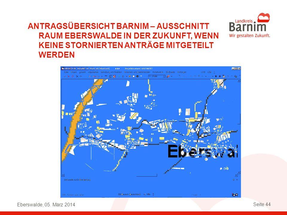 Antragsübersicht Barnim – Ausschnitt Raum Eberswalde in der Zukunft, wenn keine stornierten Anträge mitgeteilt werden