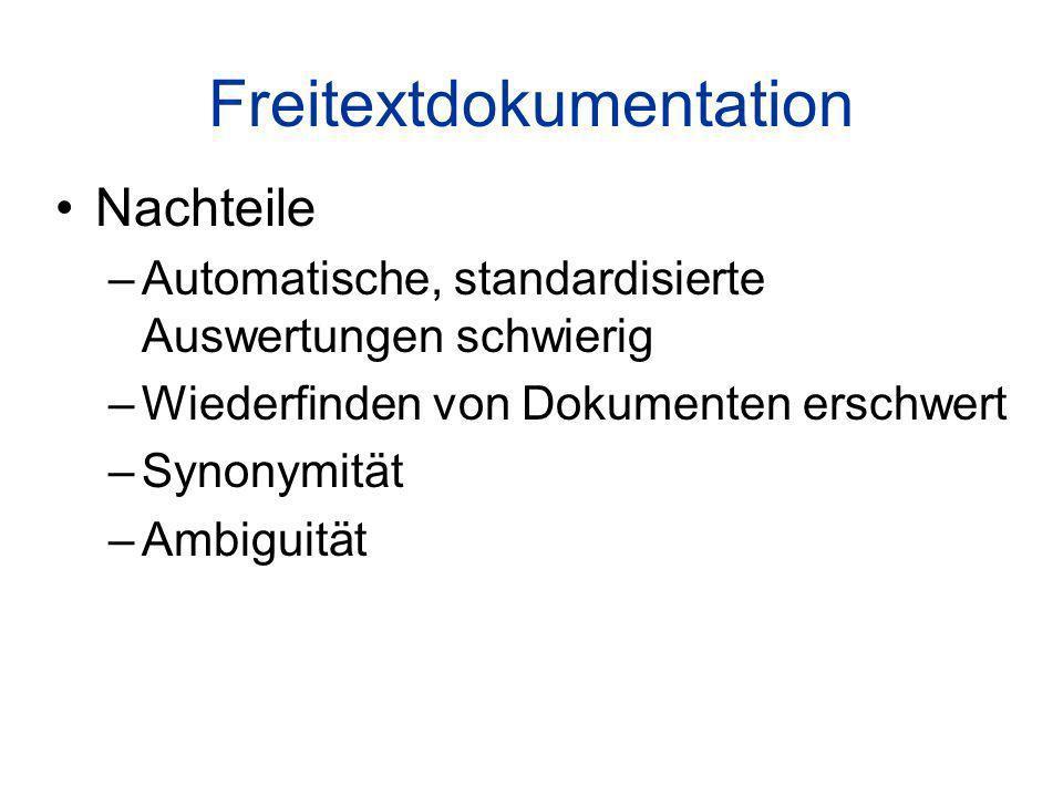 Freitextdokumentation
