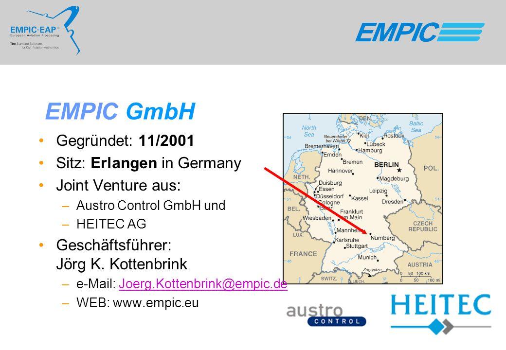 EMPIC GmbH Gegründet: 11/2001 Sitz: Erlangen in Germany