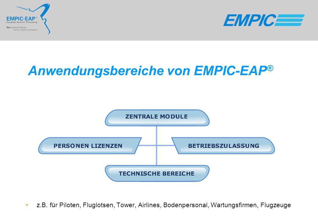 Anwendungsbereiche von EMPIC-EAP®
