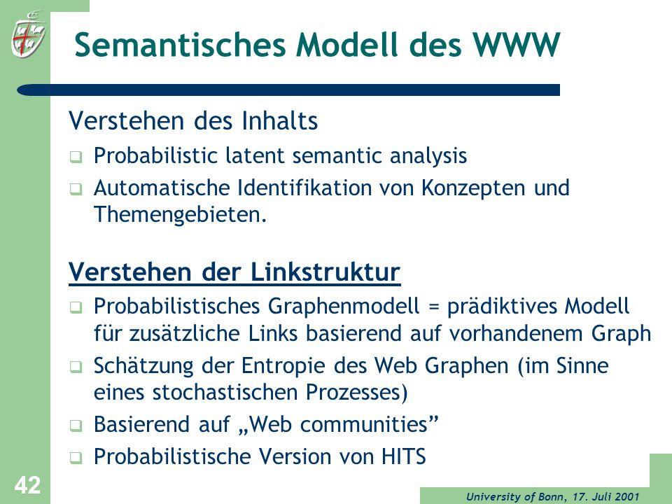 Semantisches Modell des WWW