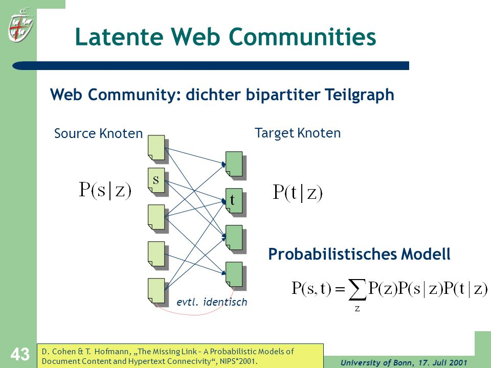 Latente Web Communities