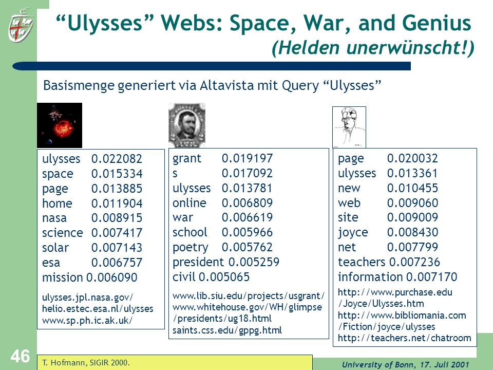 Ulysses Webs: Space, War, and Genius (Helden unerwünscht!)