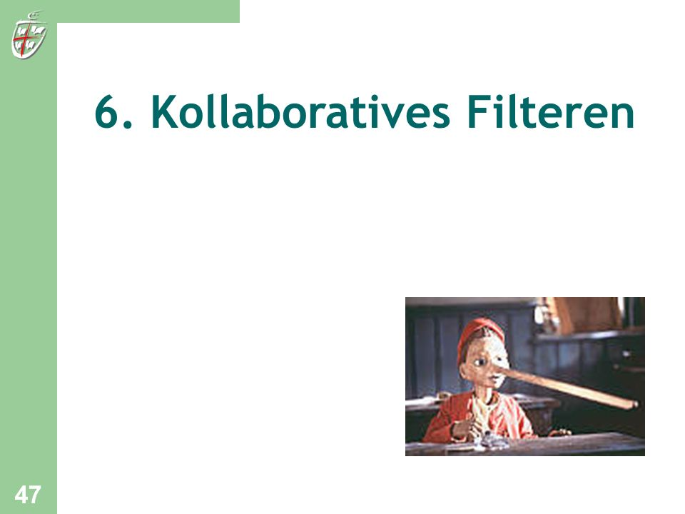 6. Kollaboratives Filteren