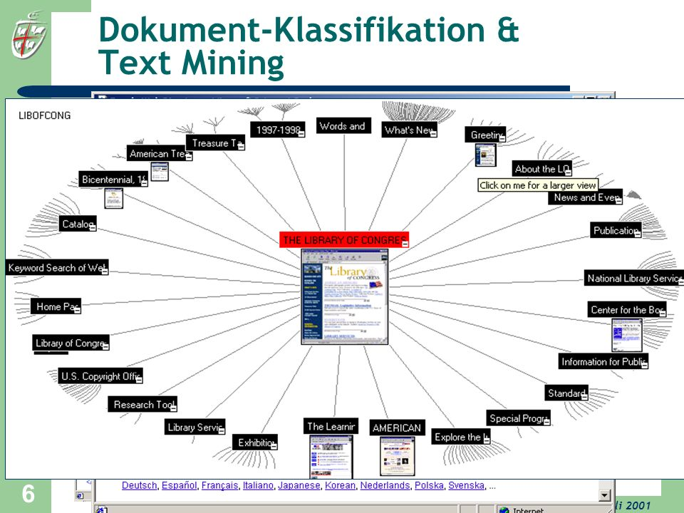 Dokument-Klassifikation & Text Mining
