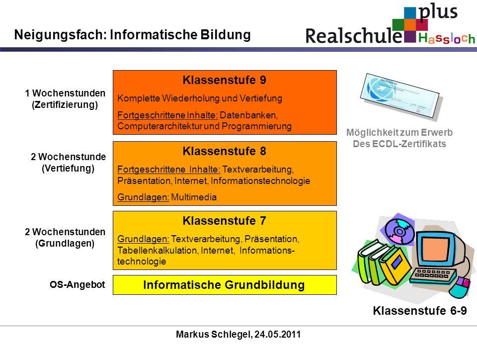 Neigungsfach: Informatische Bildung