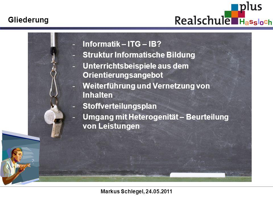 Struktur Informatische Bildung