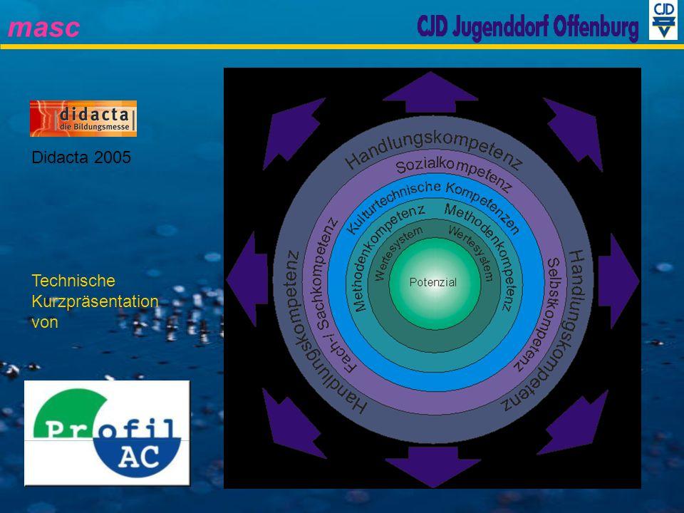 Didacta 2005 Technische Kurzpräsentation von