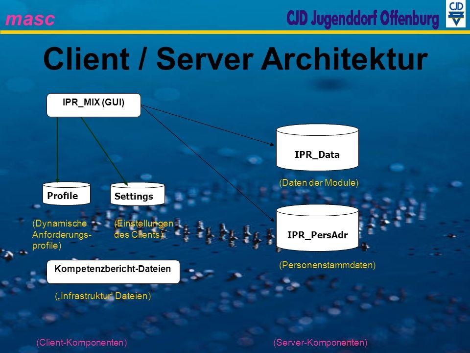 Client / Server Architektur