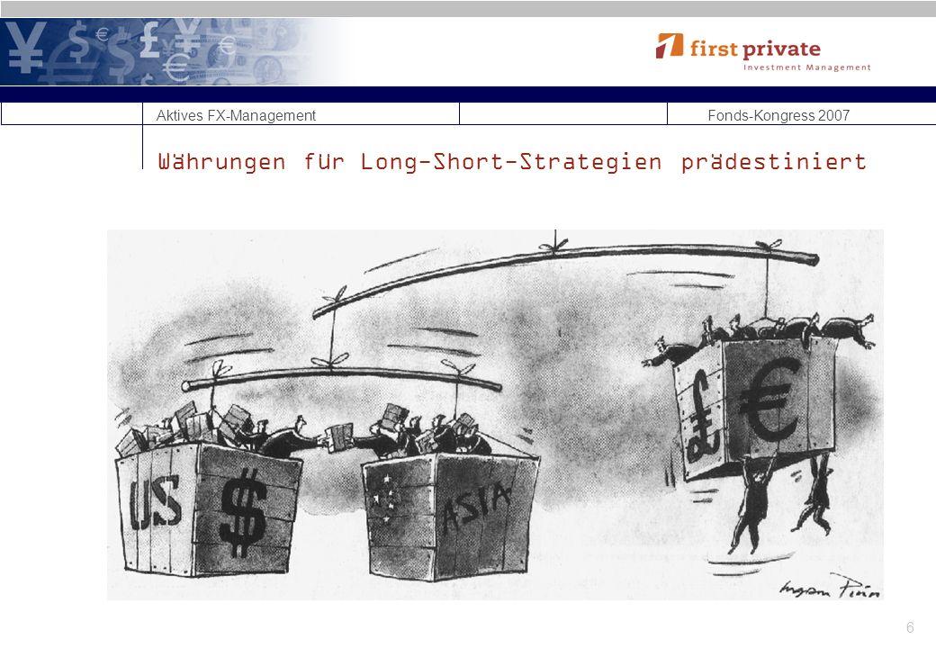 Währungen für Long-Short-Strategien prädestiniert