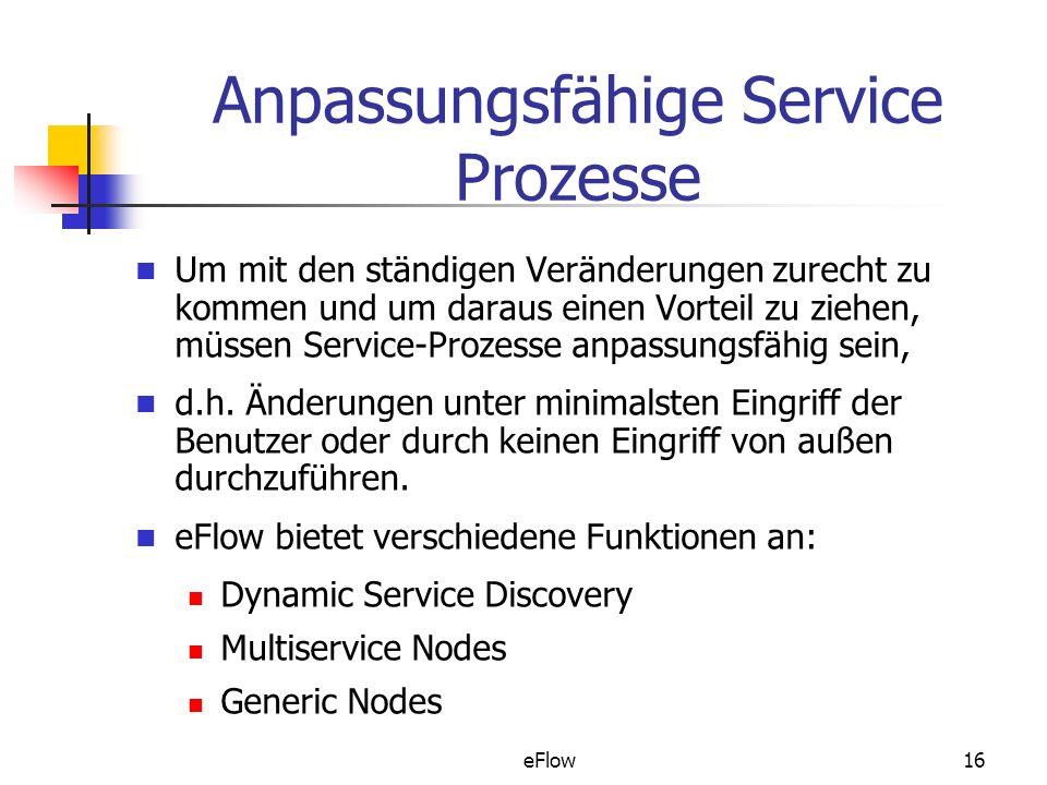 Anpassungsfähige Service Prozesse