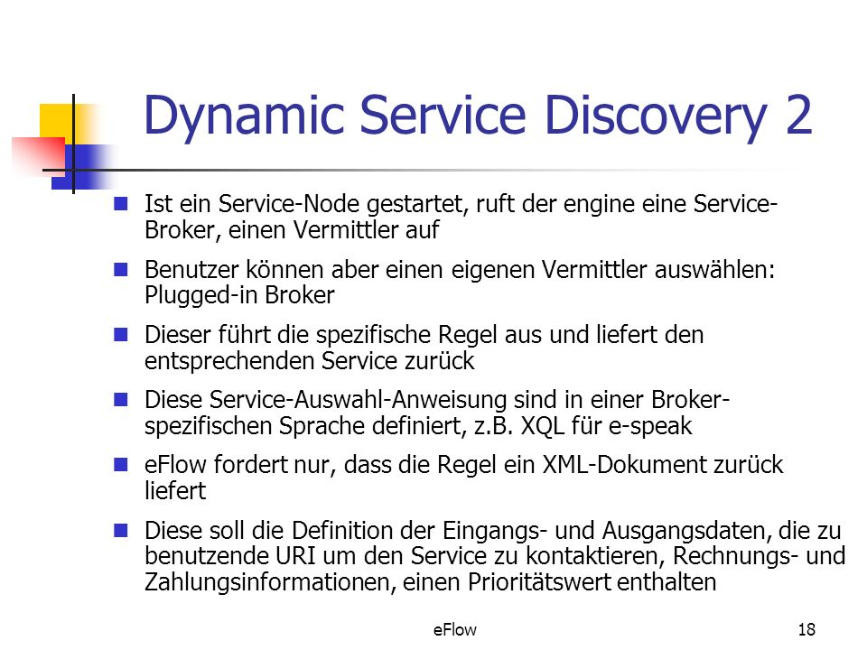 Dynamic Service Discovery 2